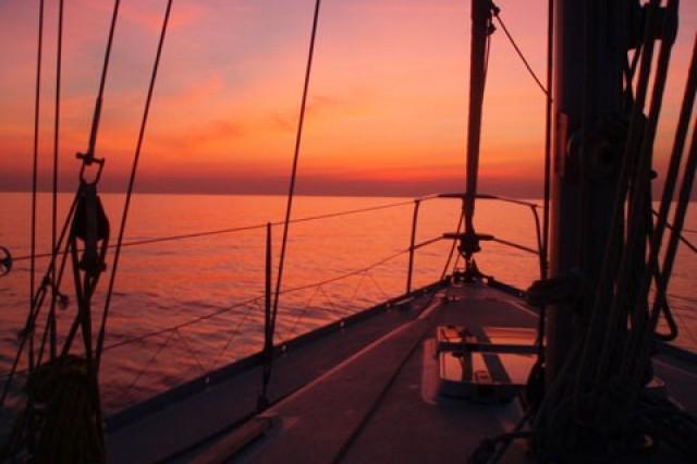 Friariella dormire in barca a vela a Venezia con Bluewago