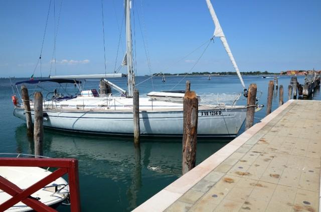 Friariella dormire in barca a vela a Venezia